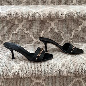 Gucci Shoes - AUTHENTIC GUCCI HEELS - Black Leather